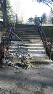 Stepenice poligon autoškole