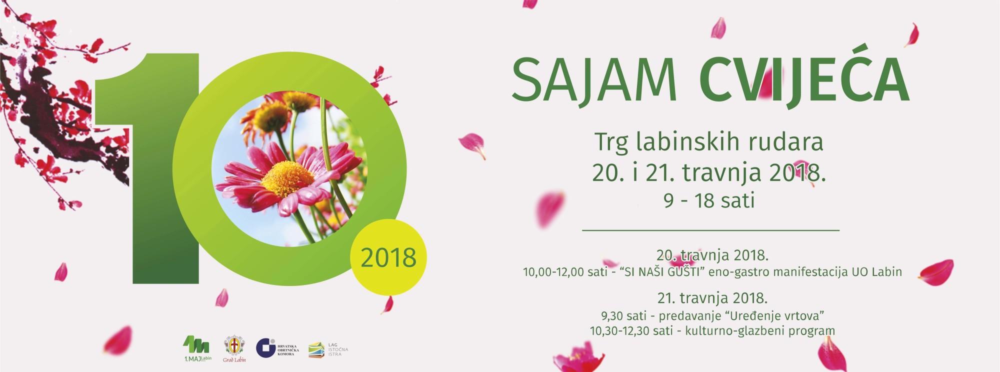 10. Sajam cvijeća 2018.