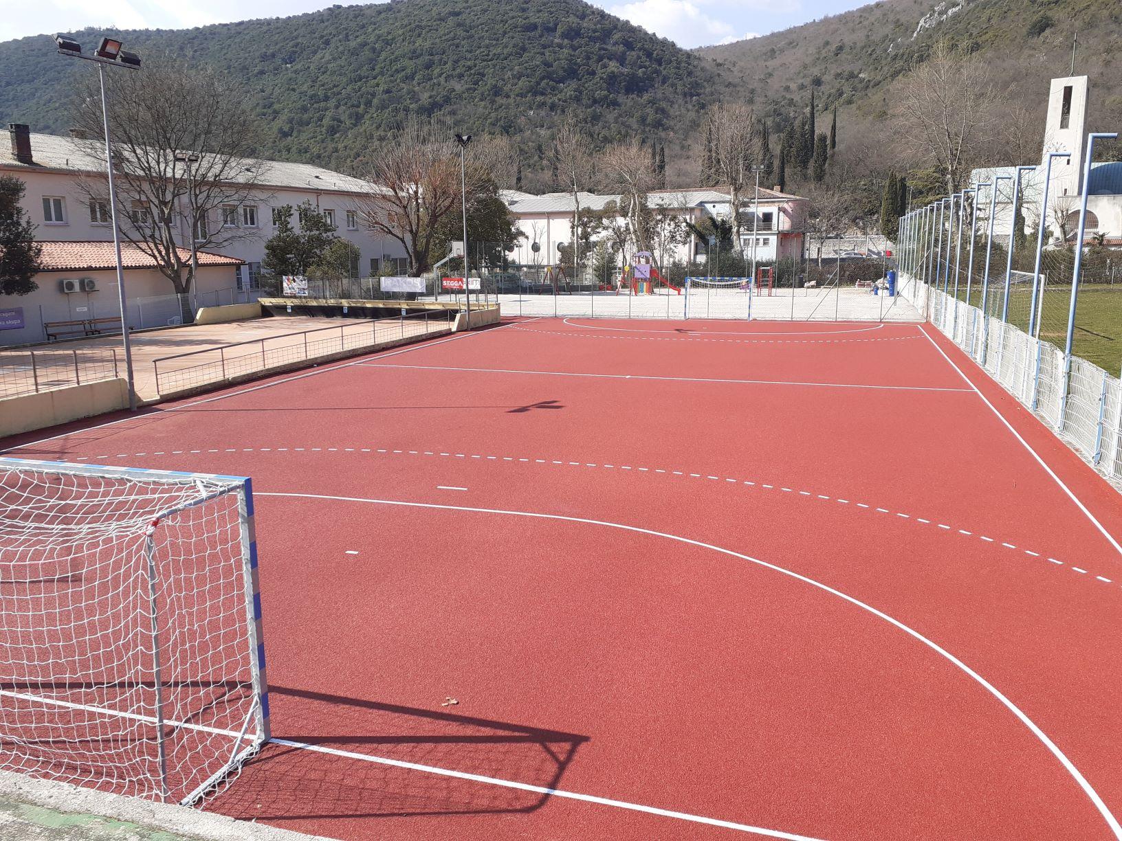 Modernizacija sportskog centra u Raši